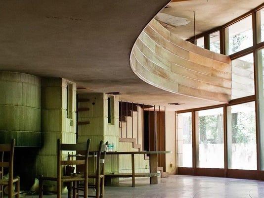 Spring House interior art