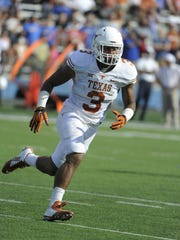 Former Lakota West star Jordan Hicks played at Texas from 2010 to 2014.