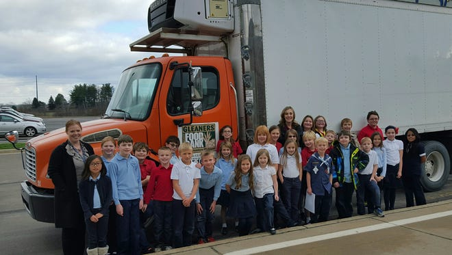 Charyl Stockwell Academy Elementary collected over 2,000 canned good items this year for its annual food drive.