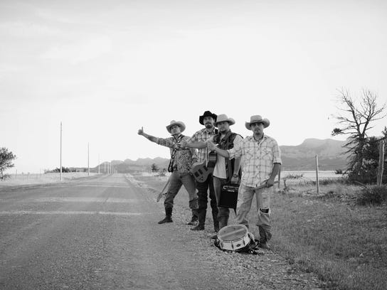 2 Crawford Brothers Hitchhiking