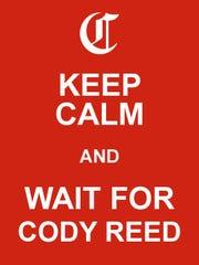 Keep Calm Cody Reed