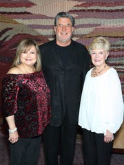 (left to right): Roby Tashman, Ted Giatas, and Nancy