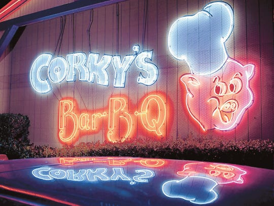 Corky's is one of the big names in Memphis barbecue, with four local stores, several franchised locations, a catering business and more.