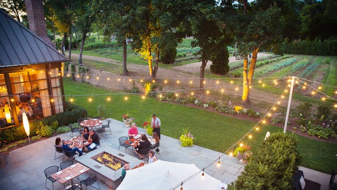 "Guests will enjoy a bucolic ""table-at-the-farm"" experience at Ninety Acres in Peapack-Gladstone."