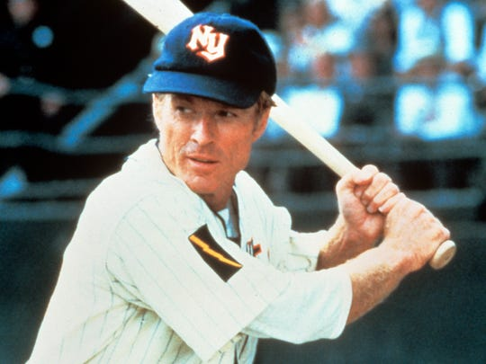 Robert Redford stars in 'The Natural.'