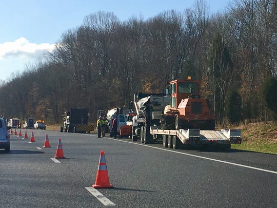 More orange cones and paving work for Interstate 24 between Clarksville and Nashville