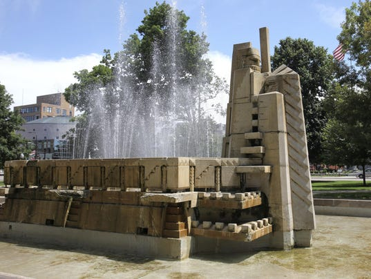 Kalamazoo Park Fountain