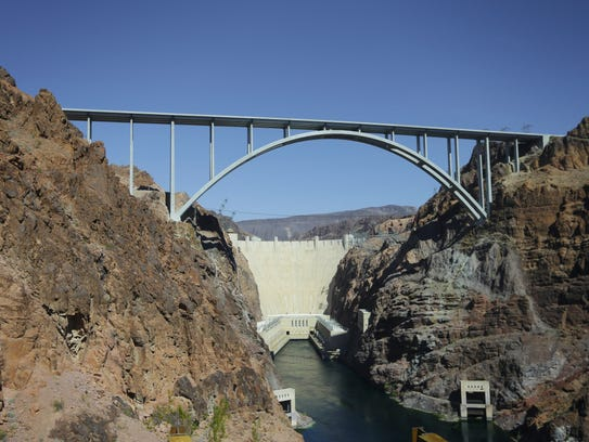 This Oct. 2, 2012 file photo shows The Hoover Dam and