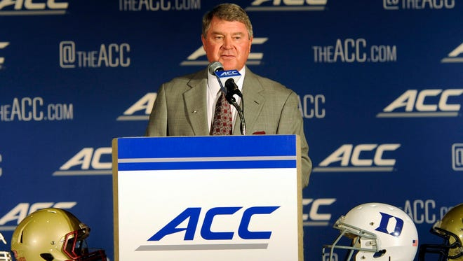 ACC Commissioner John Swofford.