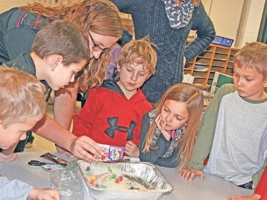 Second- and third-grade students enjoyed NRCS Environmental