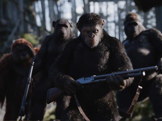 Caesar War Apes