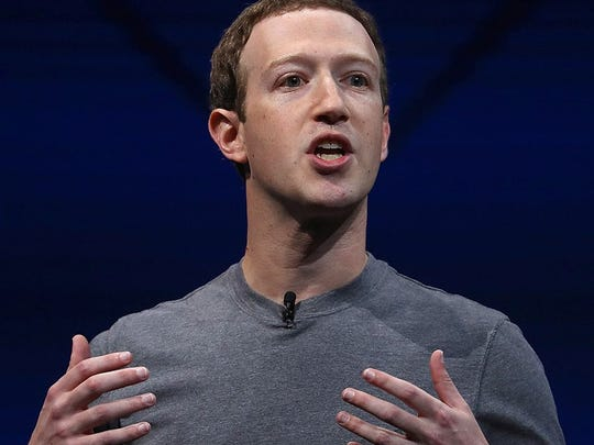 Facebook co-founder and CEO Mark Zuckerberg.
