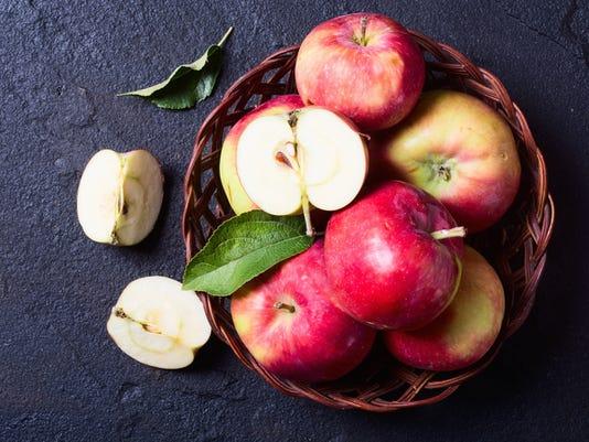 Still life with apple