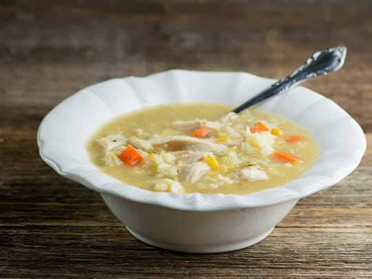 Chicken and Baby Dumpling Soup