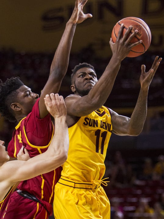 ASU basketball vs. USC