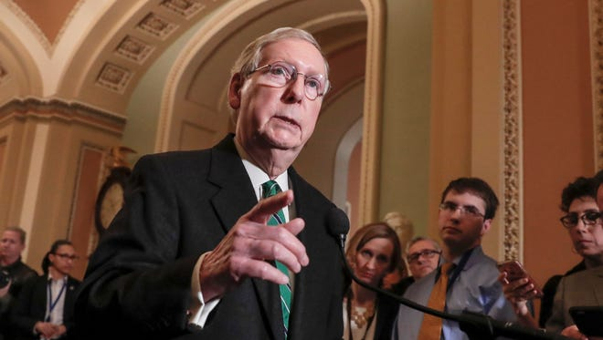Senate Majority Leader Mitch McConnell, R-Ky., said that he'll introduce legislation to legalize hemp as an agricultural commodity.