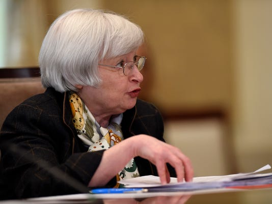 AP YELLEN FEDERAL RESERVE A F USA DC