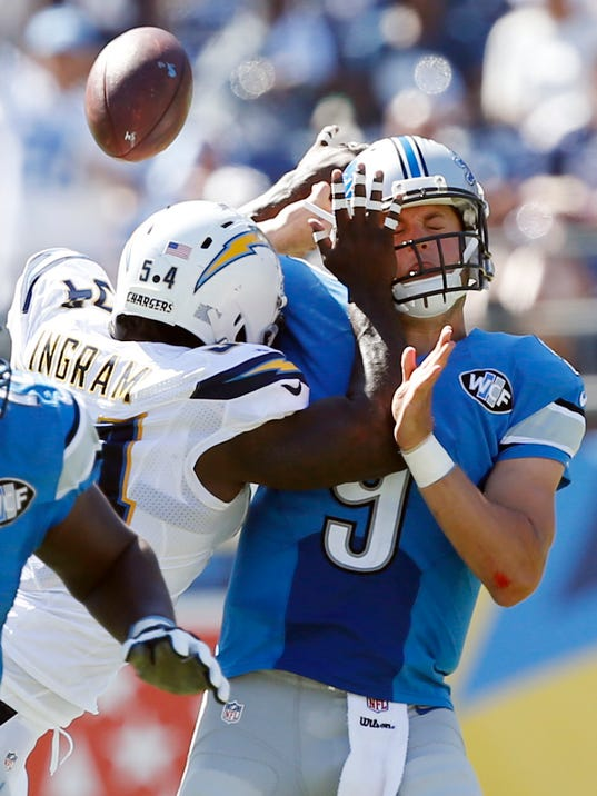Dissecting Melvin Ingram S Big Hit On Detroit Lions