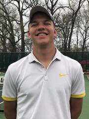 Josh Mueller won No. 3 singles to help Lexington dethrone
