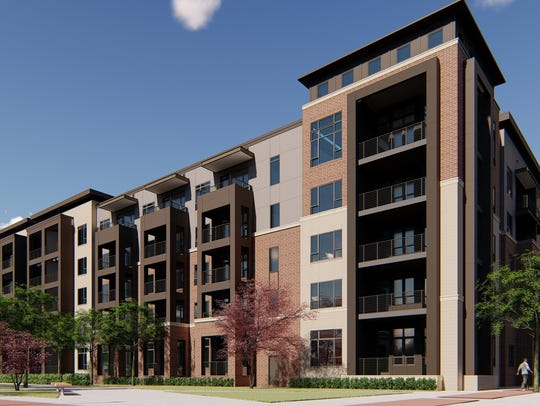 The Griffin, another luxury apartment development along Woodward Avenue, at I-696, is expected to open in 2020 and offer amenities including a pet spa, swimming pool and bicycle repair shop. Rent for a 3-bedroom at the Griffin is expected to reach $3,000 a month.