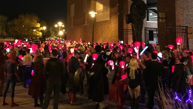At Light The Night, it is the aim to bring light to the darkness of cancer through research and cures. Light The Night is a series of fundraising campaigns benefiting The Leukemia & Lymphoma Society's (LLS) funding of research to find blood cancer cures.