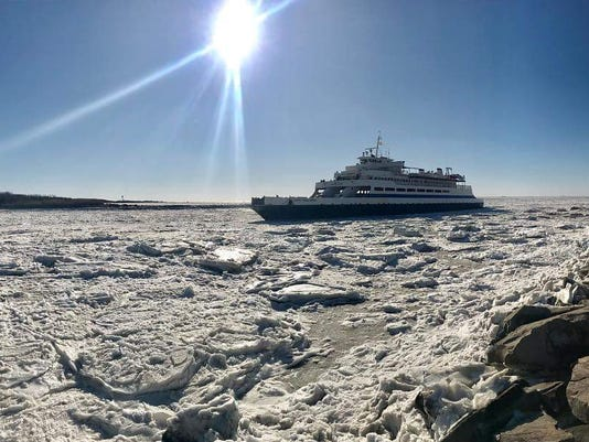 Cape May Ferry Jan 2018