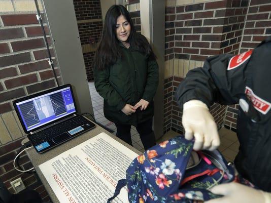 School Shootings Metal Detectors