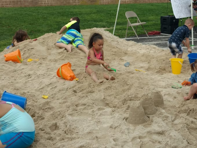 The first Lebanon Beach Party was held Saturday, Aug.