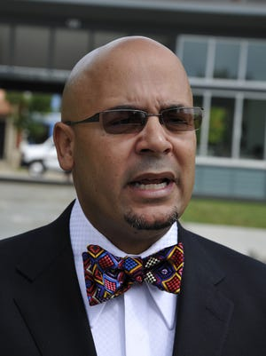 Rev. Keith Ogden of Hill Street Baptist Church has resigned from a police chief search committee, saying the final applicants lack diversity.