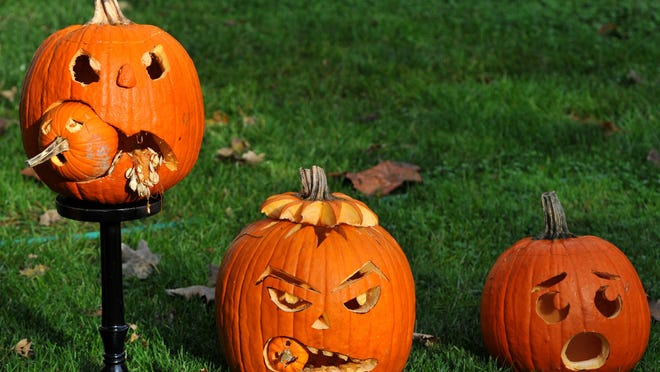 Pumpkin-carving is part of a few Halloween-themed activities this week.