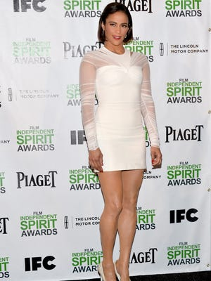 Paula Patton at the 2014 Film Independent Spirit Awards nominations news conference at W Hollywood on Nov. 26, 2013.