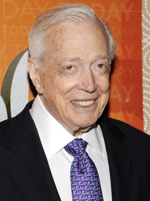 """Hugh Downs attends the """"Today"""" show 60th anniversary celebration at the Edison Ballroom on Jan. 12, 2012, in New York."""