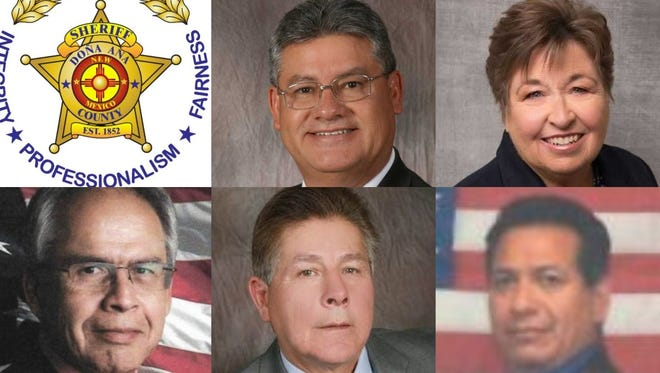 Five candidates are vying for the Democratic nomination for Doña Ana County sheriff in the June 5, 2018 primary election.