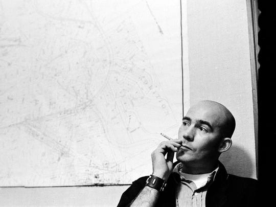 Hunter S. Thompson in 1970. Thompson was Rolling Stone's biggest journalistic star and it was Jann Wenner who recruited him and landed him.