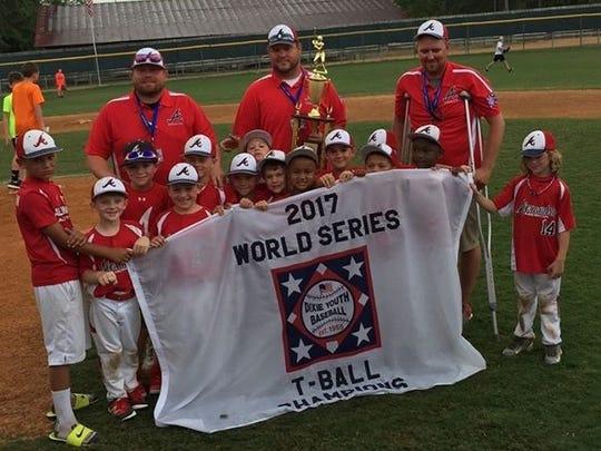 Alexandria American won the Dixie League Region III World Series Sunday.