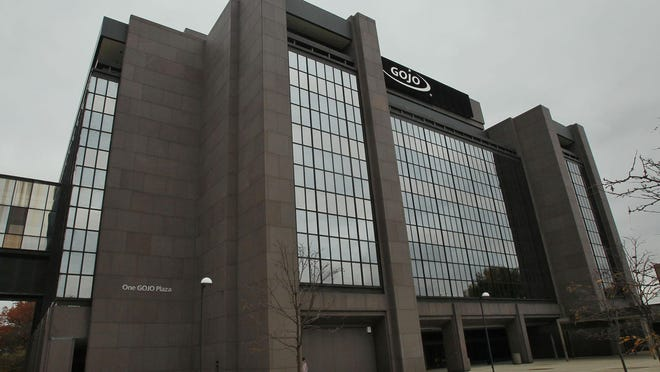 The GOJO headquarters in Akron.