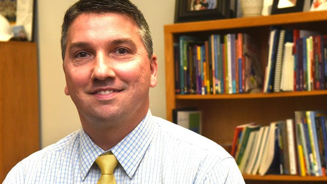 Kyle Repucci, superintendent of Rochester schools.