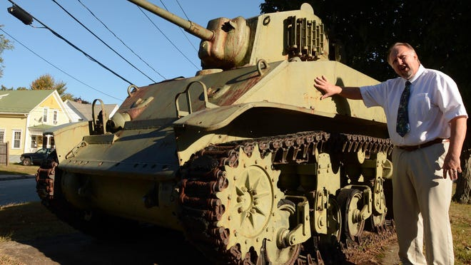 Plainfield first selectman Kevin Cunningham says the town plans to restore the exterior of World War II-era M3 tank just outside the Plainfield Town Hall, as well as a M60 version in Moosup. See video at NorwichBulletin.com