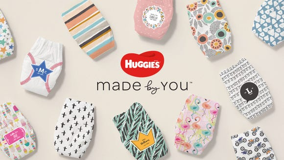 Huggies Made by You is the company's first-ever line of customizable diapers.