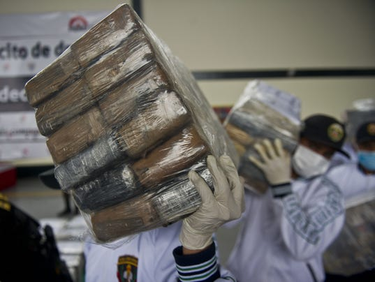 PERU-MEXICO-DRUGS-SEIZURE