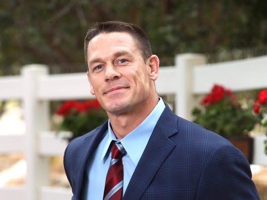 'Ferdinand' star John Cena doesn't have a natural look