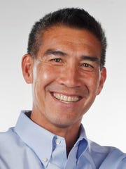 Mike Jung was named president and publisher of The News-Press Media Group Monday morning.