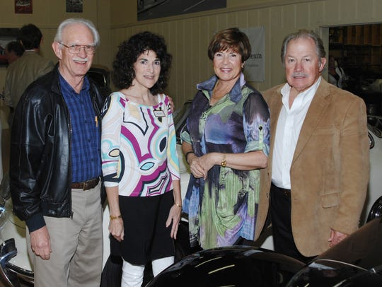 Henry and Rocky Grady, along with Lynda and Robert