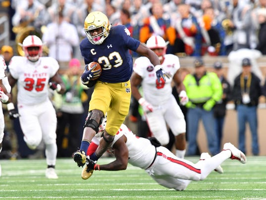 NCAA Football: North Carolina State at Notre Dame