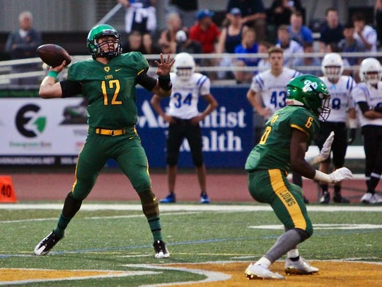 Quarterback Ethan Long from West Linn High School in
