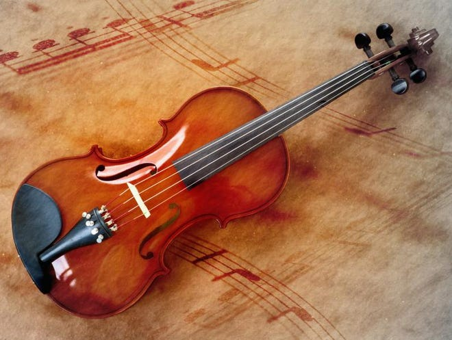 Thinkstock Violin and Musical Notes