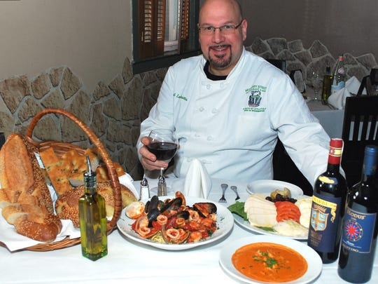 Mulberry Street Restaurant in Woodbridge will donate 20 percent of its proceeds on April 16 to the 67 Foundation, a memorial scholarship fund for township couple, Michael and Olympia DeNittis, who died within hours of each other last year after a lifetime together. Mulberry Street Chef-Owner Paul La Grutta is pictured.