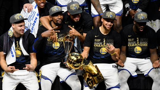 Warriors earn dynasty with historic sweep of LeBron James, Cavaliers