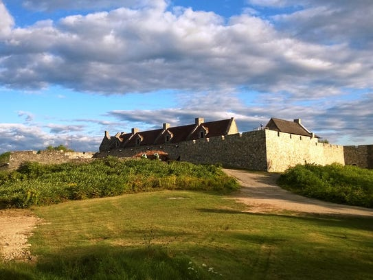 Fort Ticonderoga in New York.