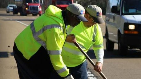 MDOT workers